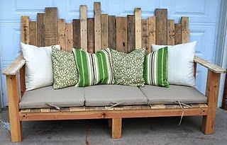 Funky Outdoor Sofa Pallet