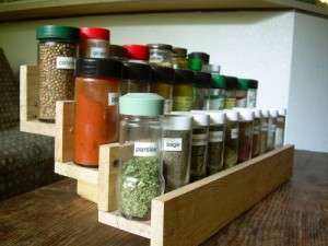 Pallet Ingredients Rack