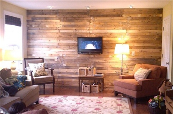 Wooden Pallet for Wall