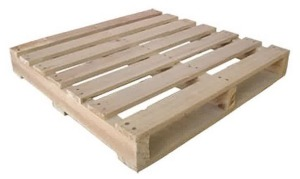 Dry Wooden Pallet