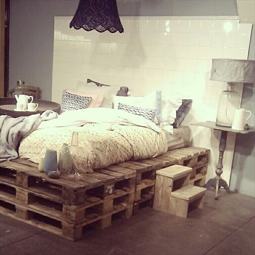 Pallet Bed Wood Frame