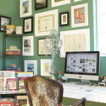 Emerald Green Tone Home Office