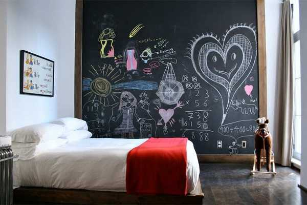 Chalkboard Paint Room Decoration