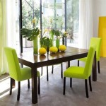 Lime Green Rooms in Natural House
