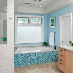 Cool Turquoise Aqua Bathroom