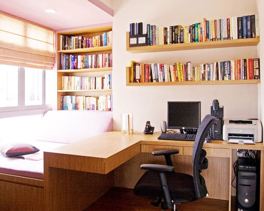 Add these features to make your small home office more - Creating a small home office ...