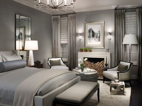 Lovely Grey Bedroom Decor