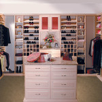 Stylish Walk-in Closet