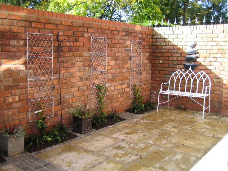 Why Reclaimed Bricks Are Perfect Material for Your Garden ... on Backyard Wall Covering Ideas id=52836